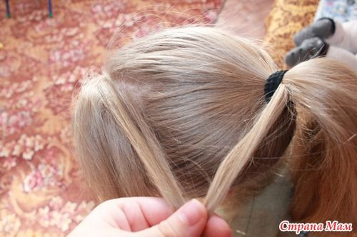 DIY Unique Braided Bun Hairstyle 2
