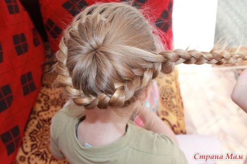 DIY Unique Braided Bun Hairstyle 9