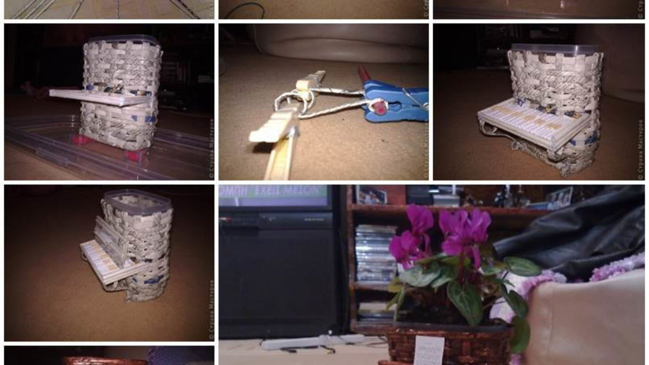 DIY Origami Flower Pot by Amy Robison Design on Love the Day   720x1280