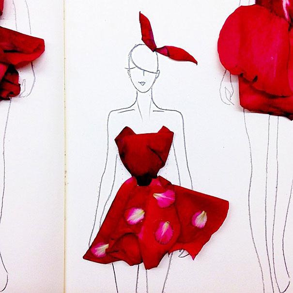 Creative-Fashion-Design-Sketches-Using-Real-Flower-Petals-6.jpg