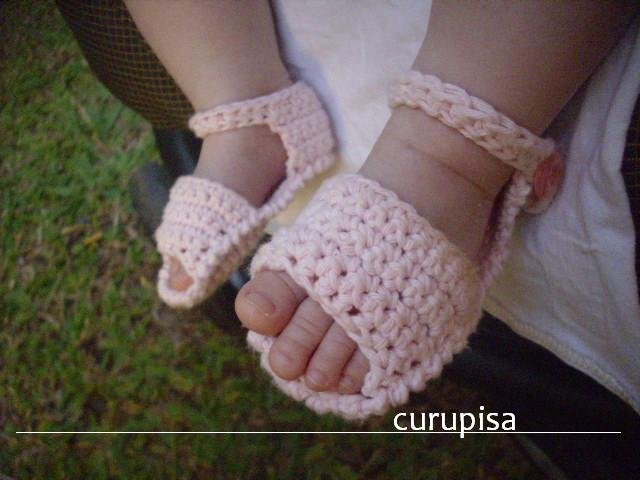 60+ Adorable and FREE Crochet Baby Sandals Patterns --> Crochet Baby Sandals