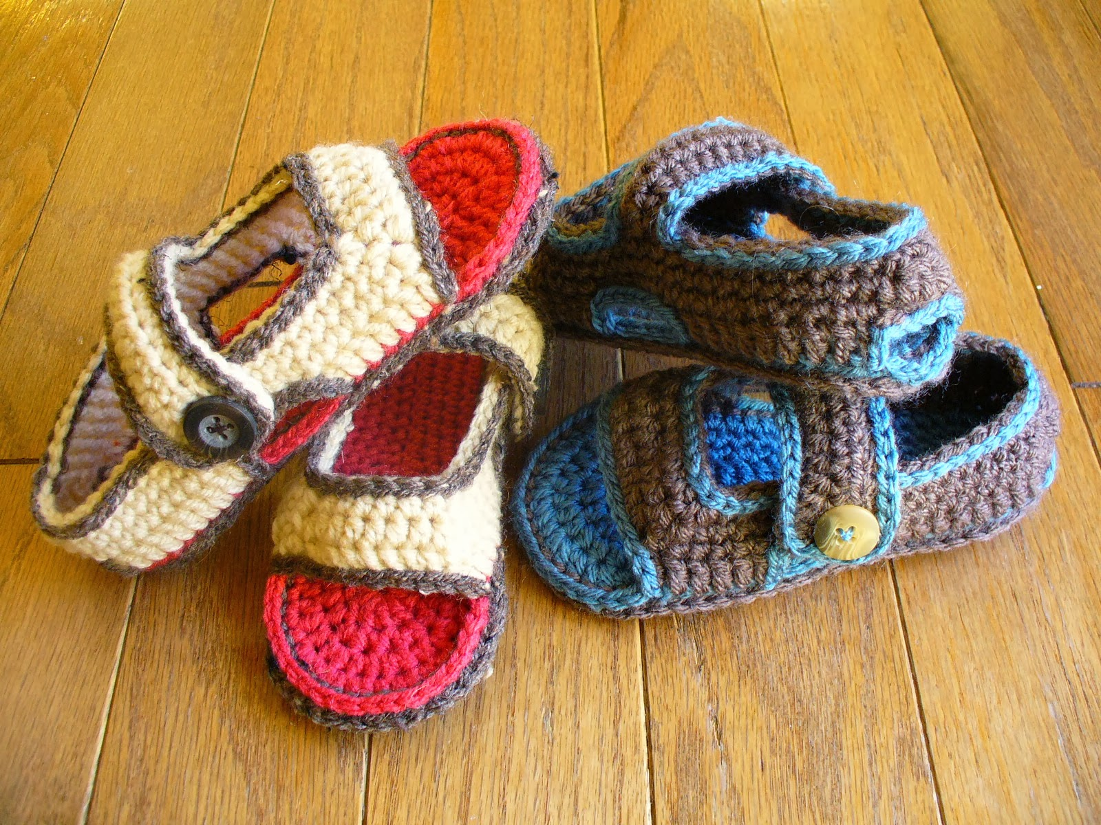 60+ Adorable and FREE Crochet Baby Sandals Patterns --> Toddler Two Strap Sandals