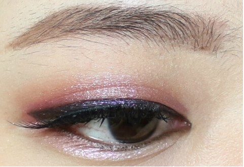 how to apply disney frozen elsa's eyeshadow in everyday