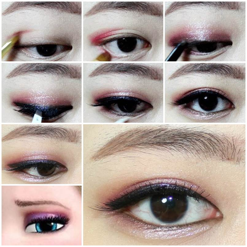 how to put eyeshadow on eyes