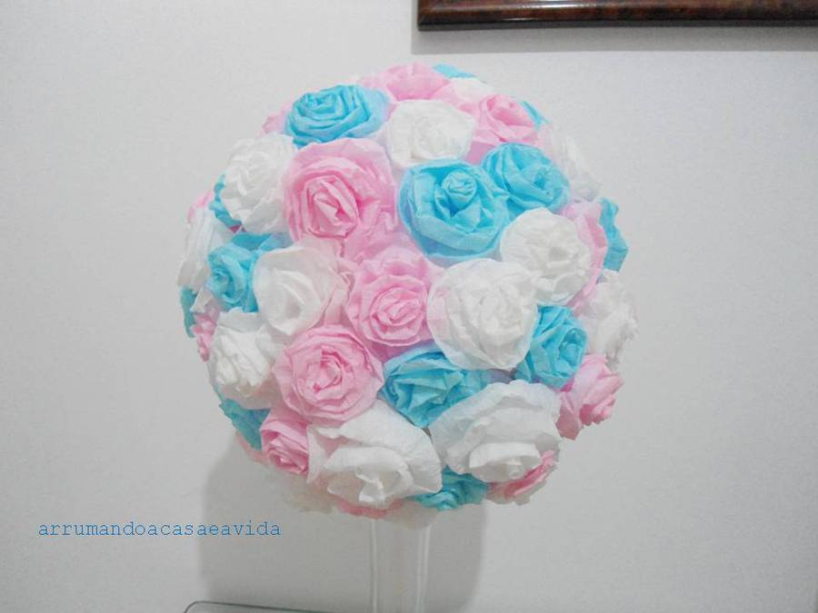 How to diy beautiful crepe paper flower ball how to diy beautiful crepe paper flower ball mightylinksfo
