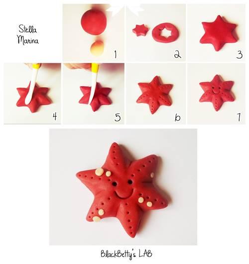 How to DIY Cute Fondant Starfish