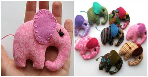 How to DIY Cute Pocket Elephant