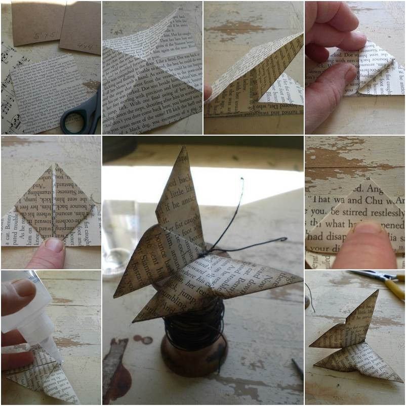 How to DIY Easy Origami Butterfly
