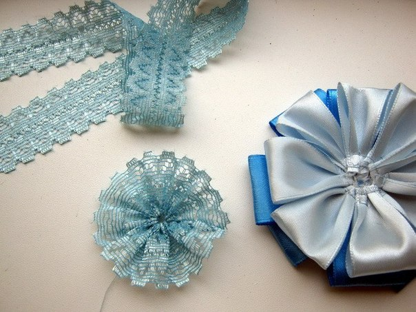How To Diy Easy Satin Ribbon Flower Brooch