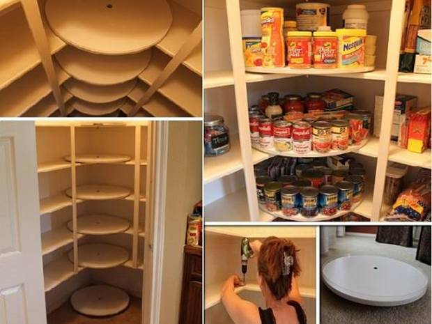 Superior How To DIY Lazy Susan Style Pantry