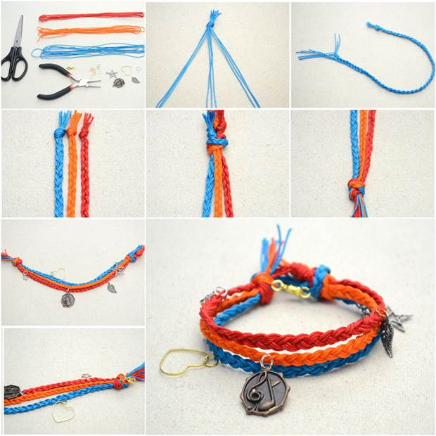 How to DIY Multi Strand Macrame Friendship Bracelet