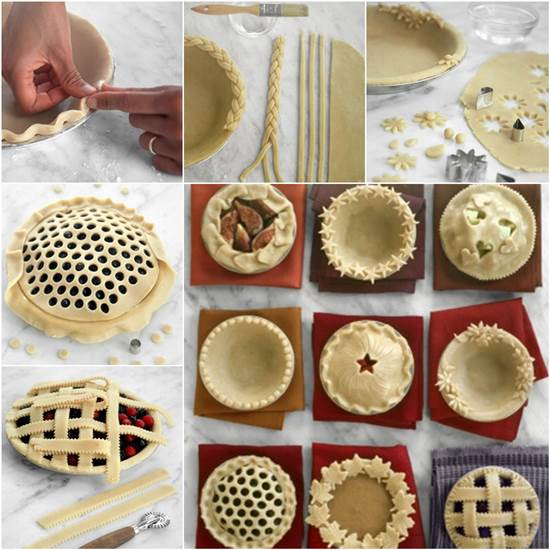 How to DIY Pretty Decorative Pie Crusts