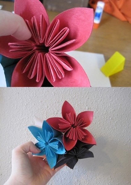 How to make beautiful origami kusudama flowers how to make beautiful origami kusudama flowers 6 mightylinksfo