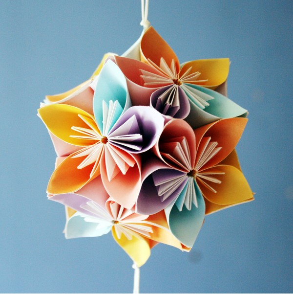 How to make beautiful origami kusudama flowers how to make beautiful origami kusudama flowers 8 mightylinksfo