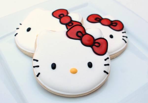 1bffa8a18 How to Make Hello Kitty Cookies