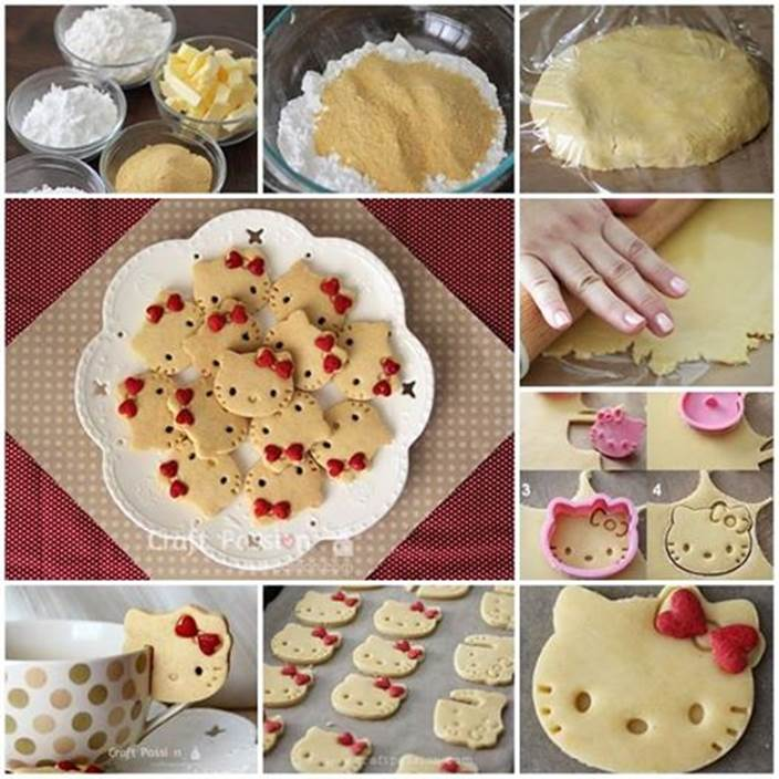 How to Make Hello Kitty Cookies