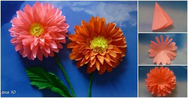 How to make paper dahlias mightylinksfo