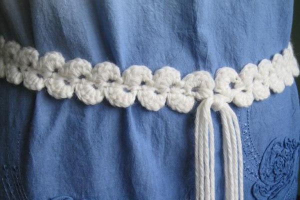 How To Make Stylish Crochet Belt