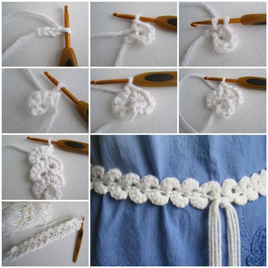 How To Make Stylish Crochet Belt