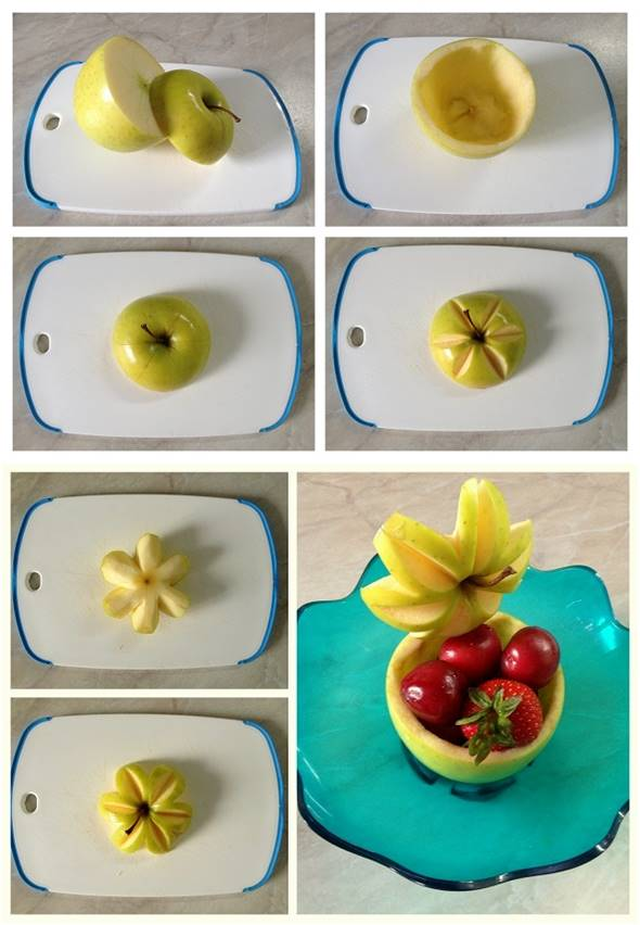 10 Creative DIY Fruit Art