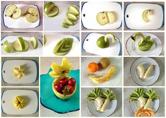 10 Creative DIY Fruit Art