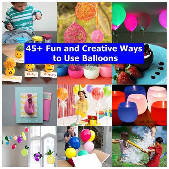 45+ Fun and Creative Ways to Use Balloons