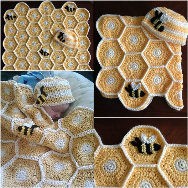 Creative Ideas Diy Adorable Owl Crochet Baby Blanket