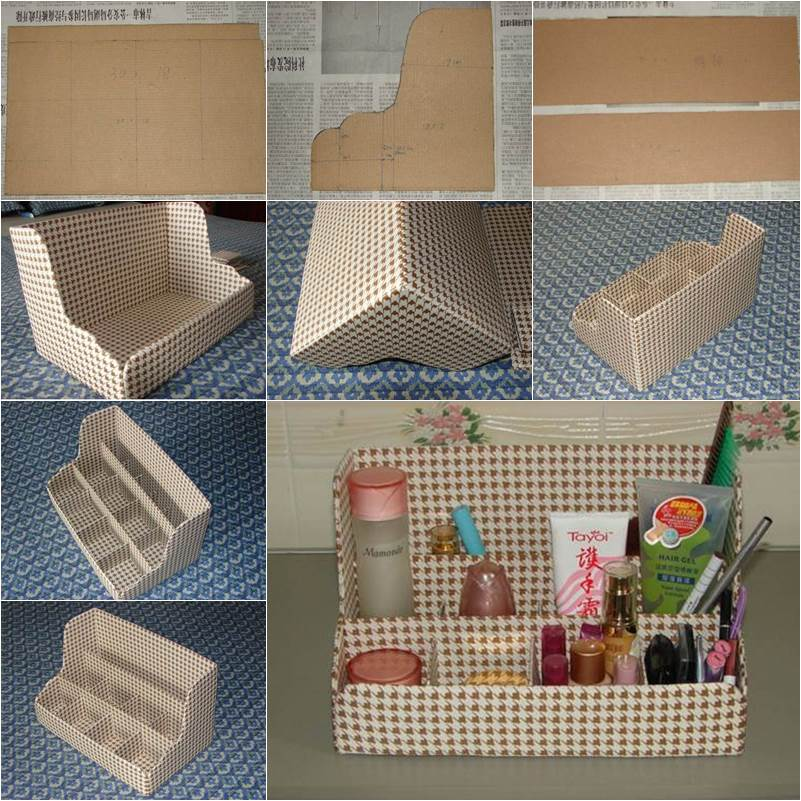 How To Diy Easy Desktop Organizer