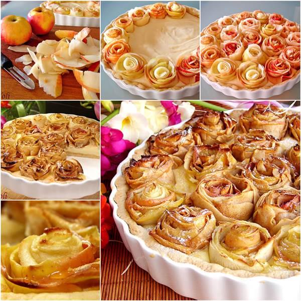 How to DIY Apple Pie of Roses