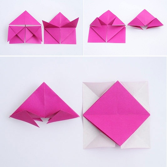 How To DIY Beautiful Origami Paper Lantern 6