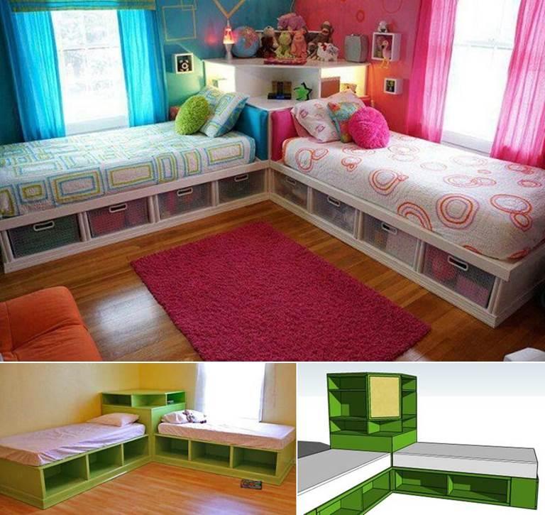 Creative Ideas - DIY Cool Boat Bed   iCreativeIdeas.com