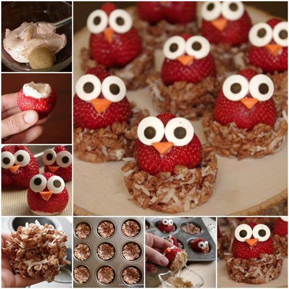 How To DIY Cute Owl Strawberries Sweet Treats