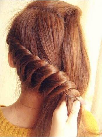 How To Diy Lovely Braided Hairstyle