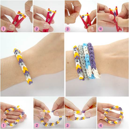 bracelet loom fishtail rubberband the band glow dark in rubber loopz product