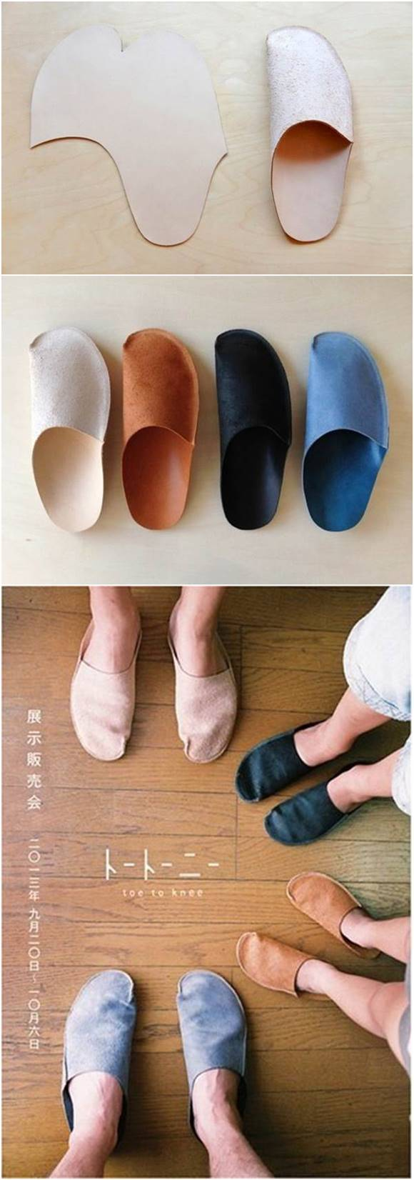 How to DIY Simple Pattern Home Slippers