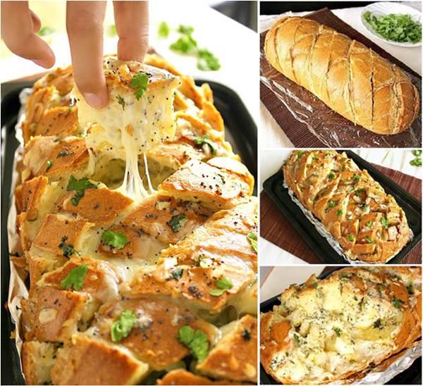 How to DIY Yummy Stuffed Cheesy Bread