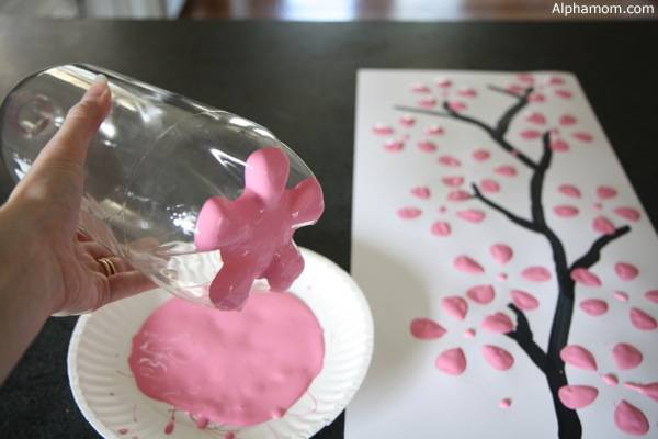 how to draw perfect cherry blossom easily
