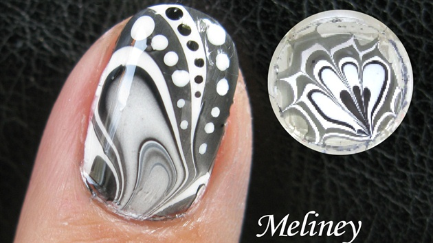 How to Make Amazing Water Marble Nail Art DIY Tutorial 1