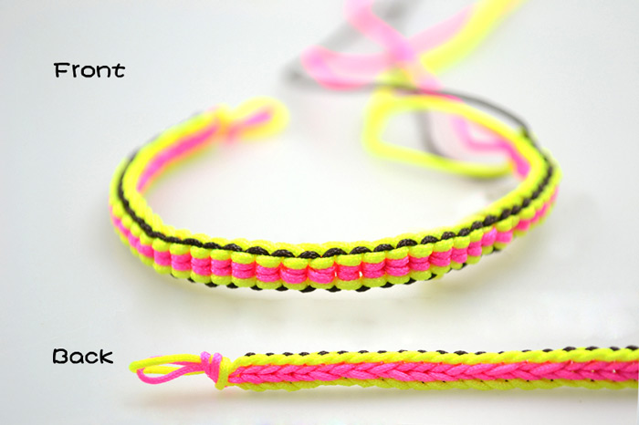 how to make string bracelets - photo #8