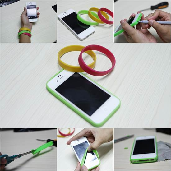 How to make easy diy iphone bumper case for Creative simple