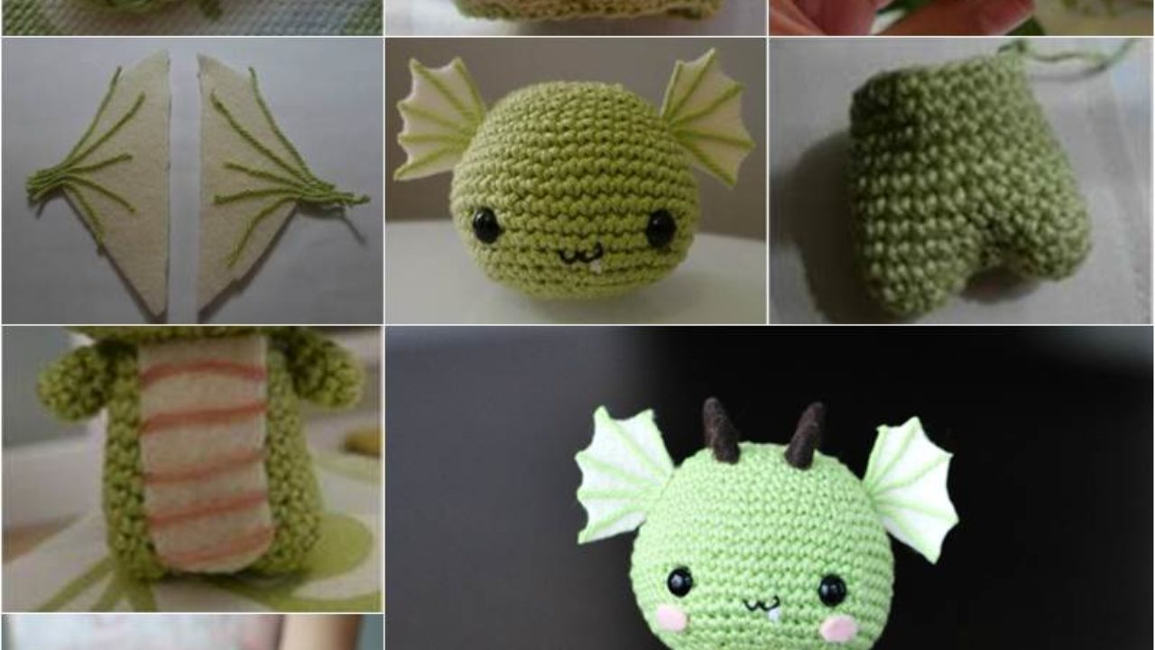 LucyRavenscar - Crochet Creatures: Mini Pets in Eggs - Dragon ... | 720x1280