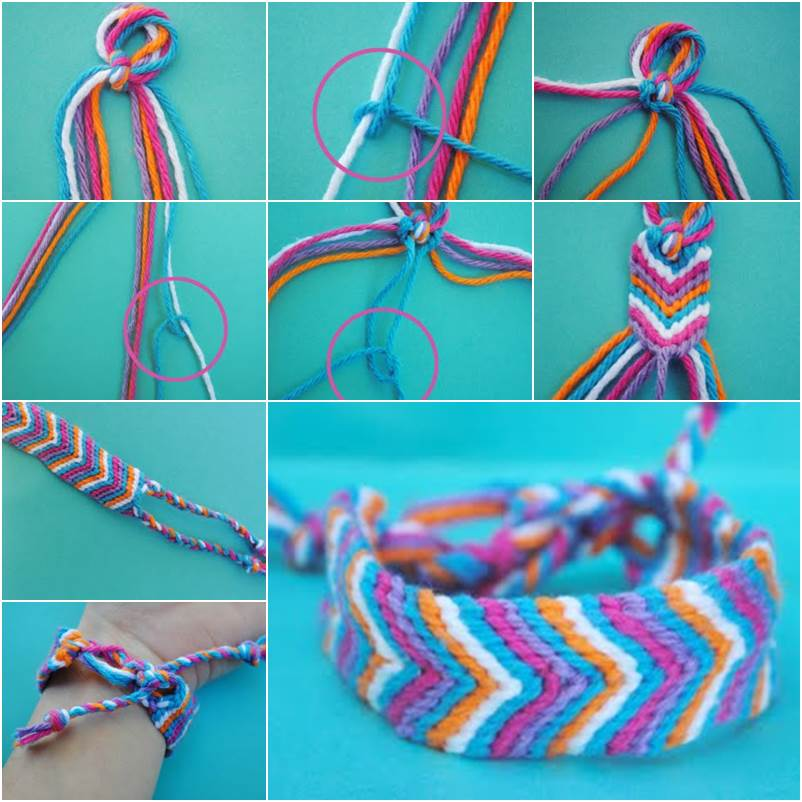 will colorful that wrapped diy yarn bracelet day bracelets brighten your favorite