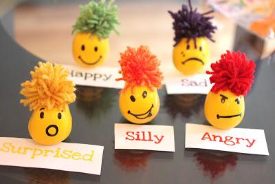 45+ Fun and Creative Ways to Use Balloons --> Emotional Stress Ball Balloons