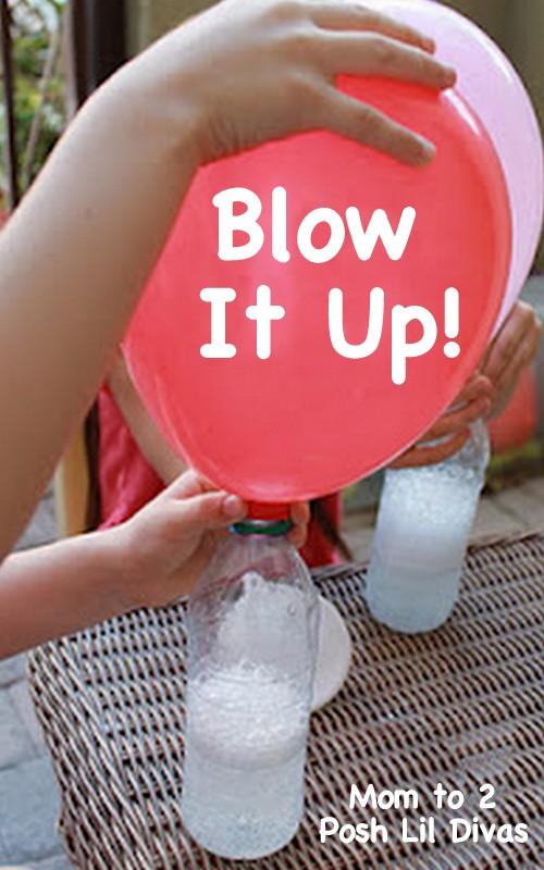 45+ Fun and Creative Ways to Use Balloons --> Exploring Gas with Balloons, Baking Soda and Vinegar