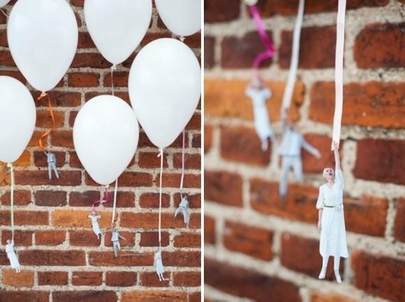 45+ Fun and Creative Ways to Use Balloons --> DIY Balloon Weights–Fly Away