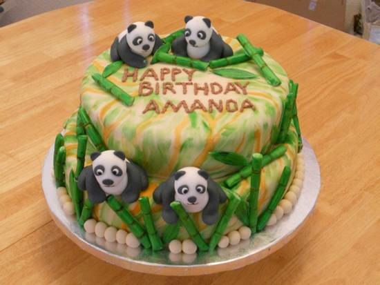 Image Result For Panda Birthday Cake P Os