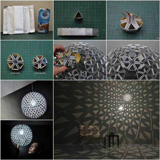 Creative DIY TetraBox Lamp by Ed Chew
