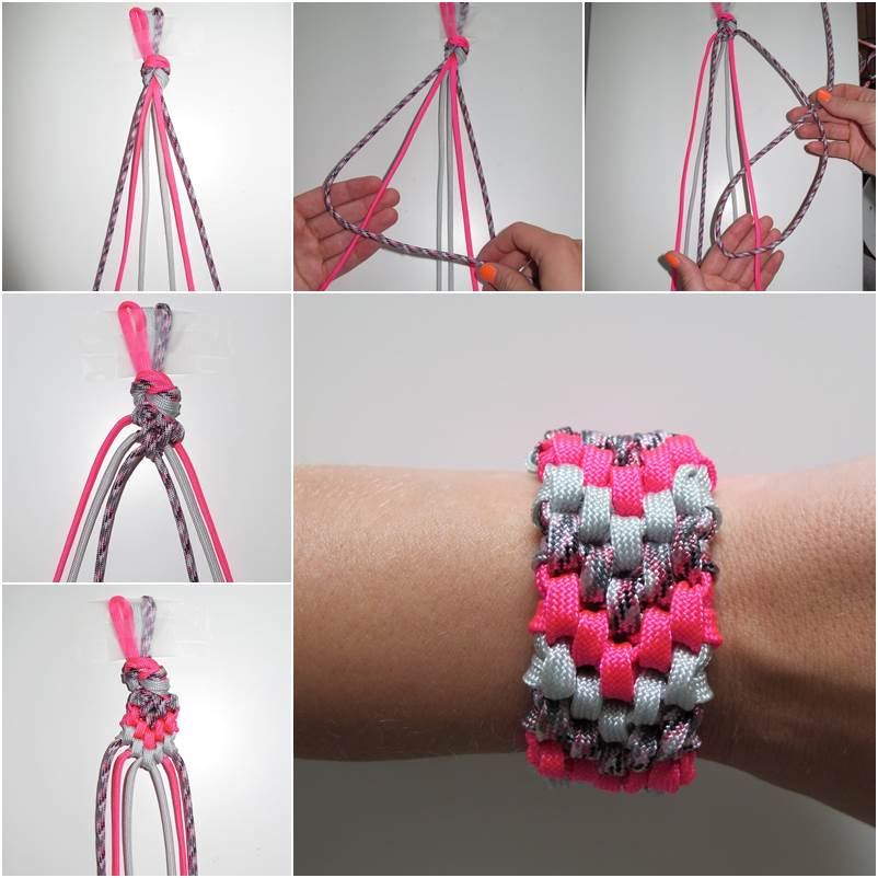 How to DIY 6-Strand Braided Friendship Bracelet