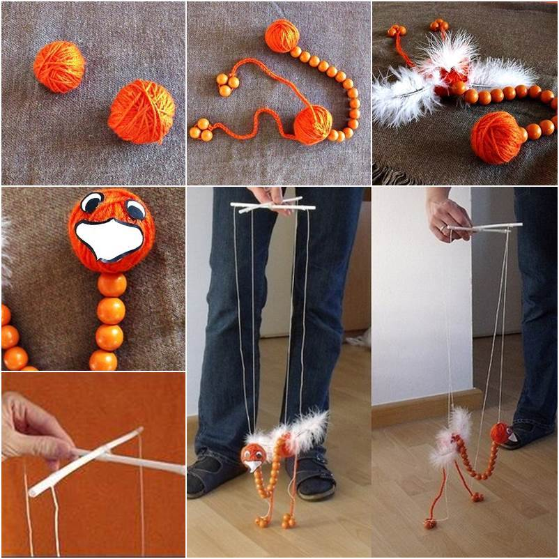 How To Diy Adorable Ostrich Puppet Doll