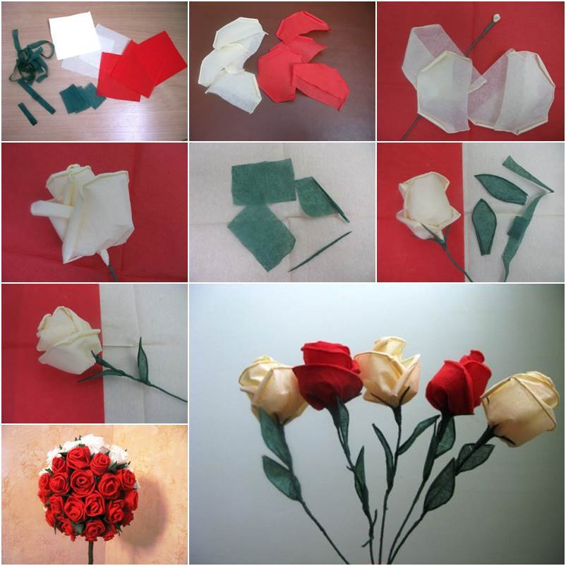 How to diy beautiful crepe paper roses mightylinksfo
